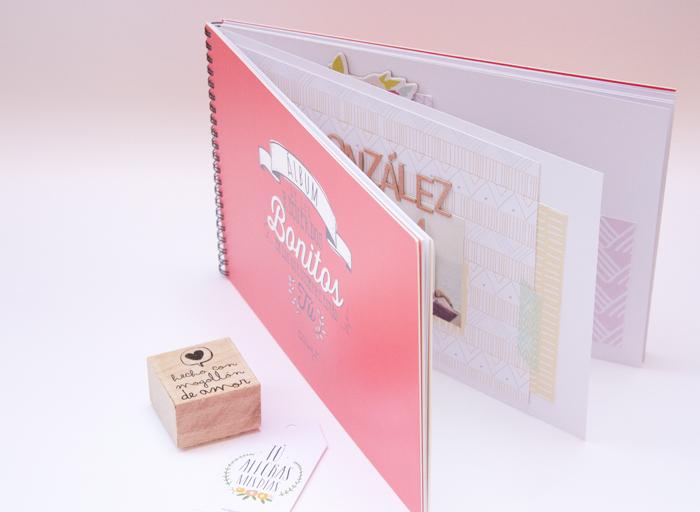 Trucos de scrapbooking con violeta scrap para hacer un - Como hacer un album scrapbook ...