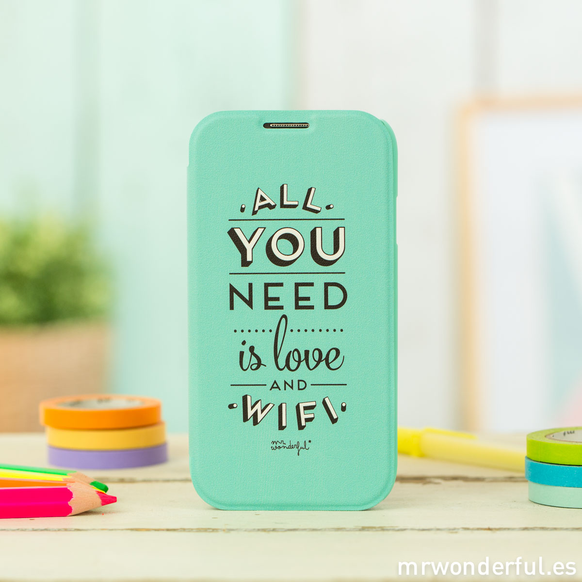 mrwonderful_MRFOL002_funda-mint-samsung-galaxy-S4_all-you-need-love-wifi-9