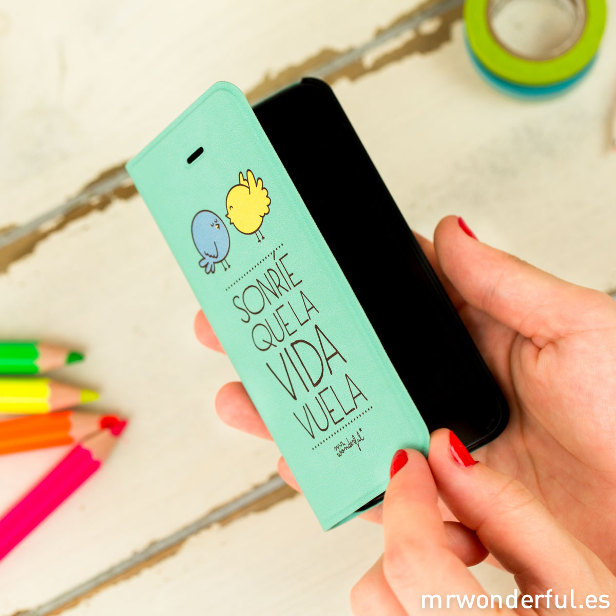 mrwonderful_MRFOL003_funda-mint-iphone-5-5s_sonrie-vida-vuela-25