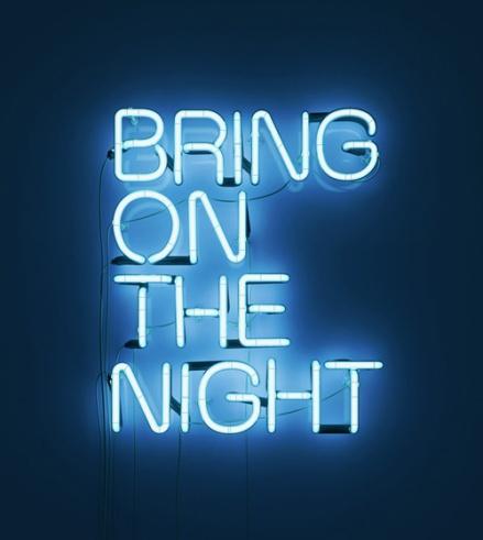 Neon Light Typography Designs