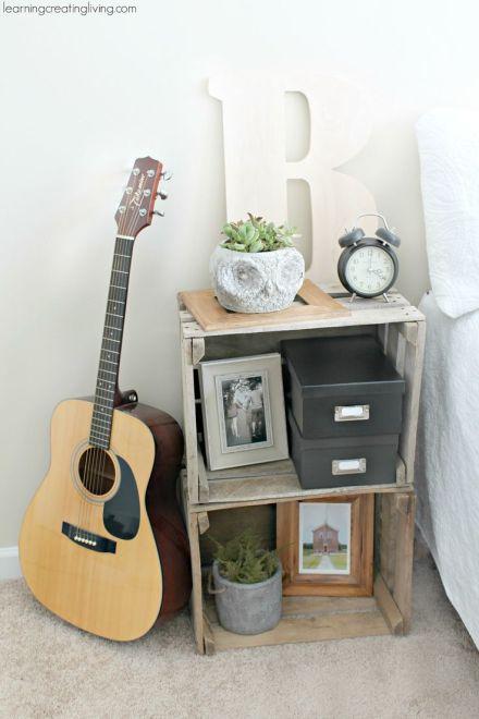 10 ideas para hacer de una caja de madera algo m s que On como decorar un buro