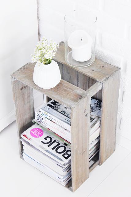 10 ideas para hacer de una caja de madera algo m s que - Cajas de vino para decorar ...