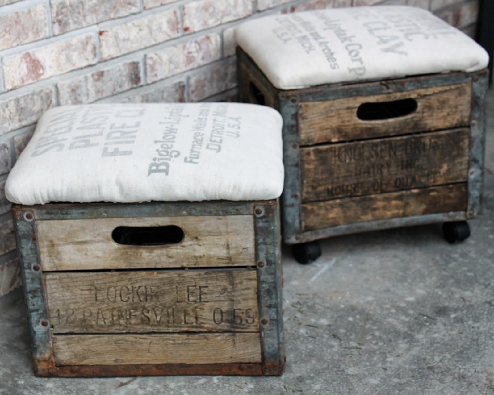 Mrwonderful cajas madera decoracion crates - Como hacer una caja para te ...