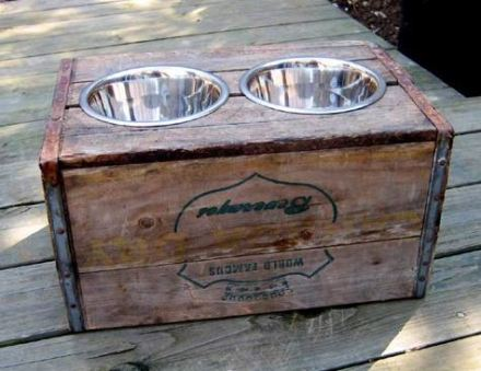 Homemade Dog Food Dish For Crates