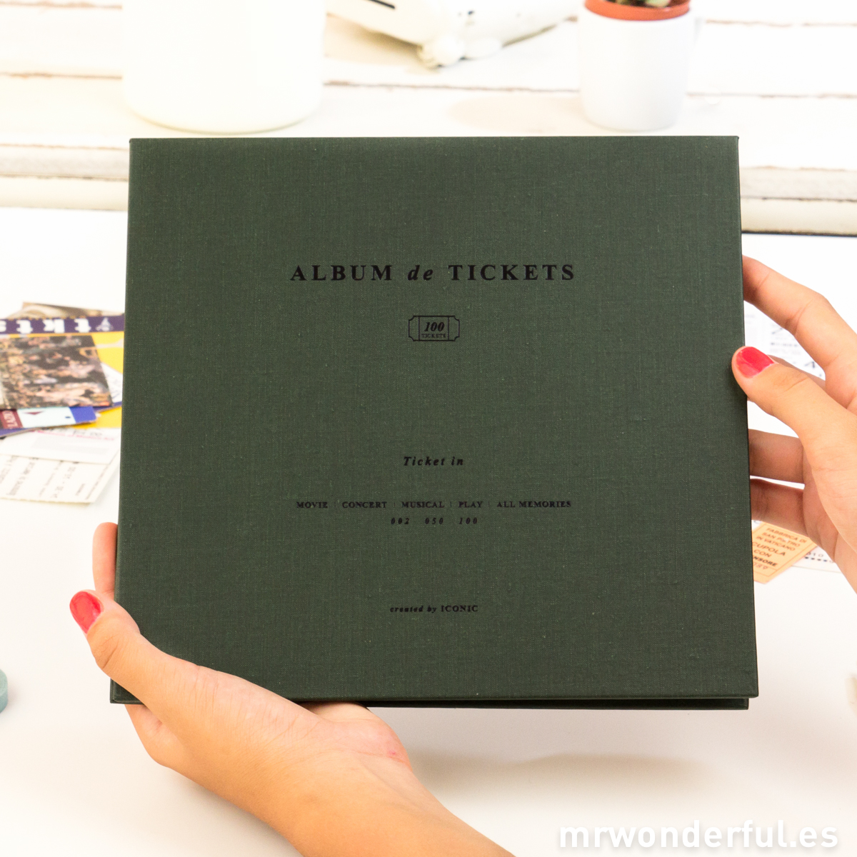 mrwonderful_16000_DARKGREEN_album-tickets-kaki-12