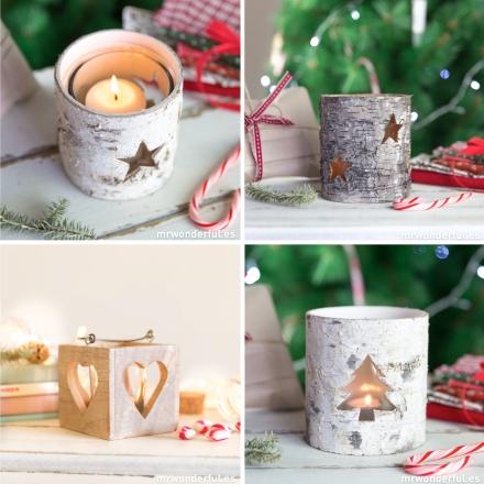 Mr.Wonderful candelabros navidad