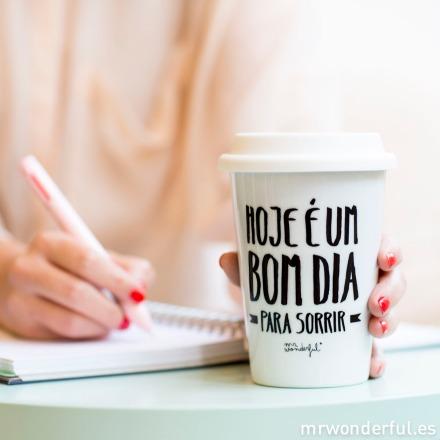 Mr.Wonderful take away portugués: Hoje é um bom dia para sorrir