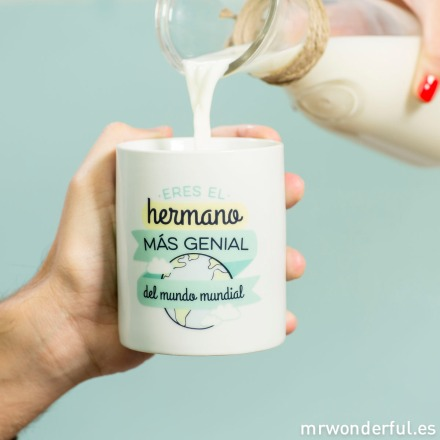 Mr.Wonderful taza hermano