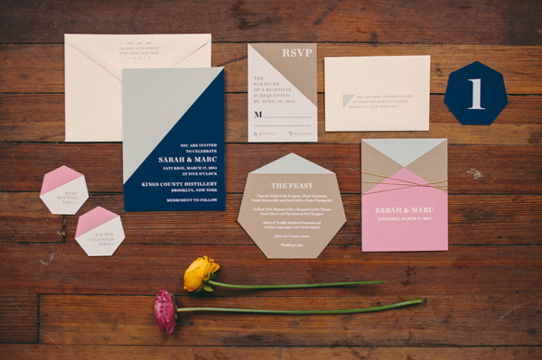 Ruffled - photo by http://www.jbmweddings.com/ - http://ruffledblog.com/bold-geometric-wedding-inspiration/