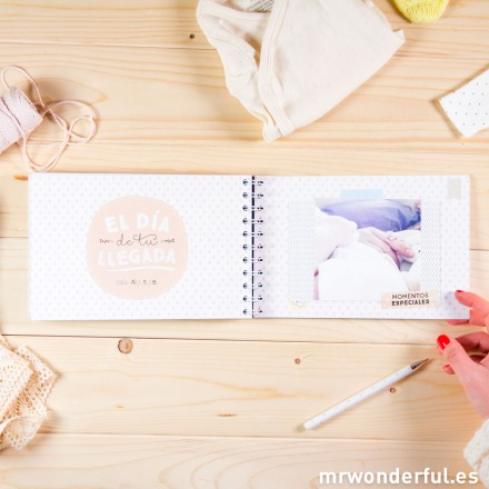 Álbum Mr.Wonderful nueve meses y mil aventuras