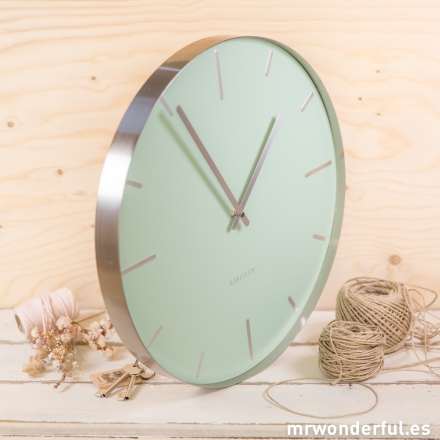 Reloj grande pared mint Mr.Wonderful