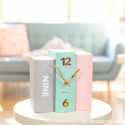 Reloj sobremesa books Mr.Wonderful