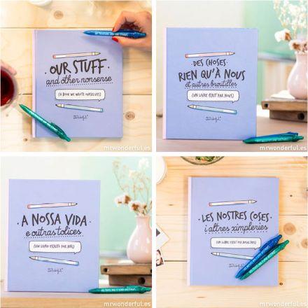 """Libro """"Nuestras cosas y otras tonterías"""" en idiomas"""