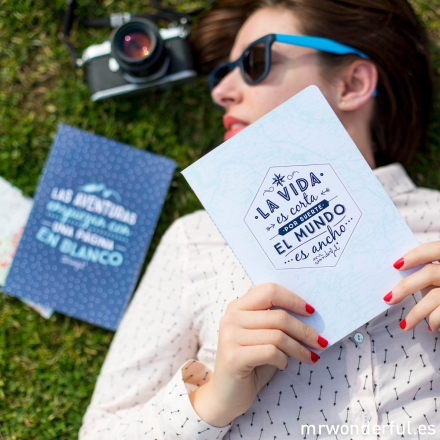 Mr.Wonderful libretas viajeras