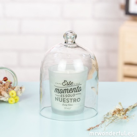 Mr.Wonderful urna de cristal