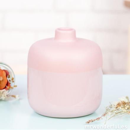 Mr.Wonderful jarrón rosa pequeño