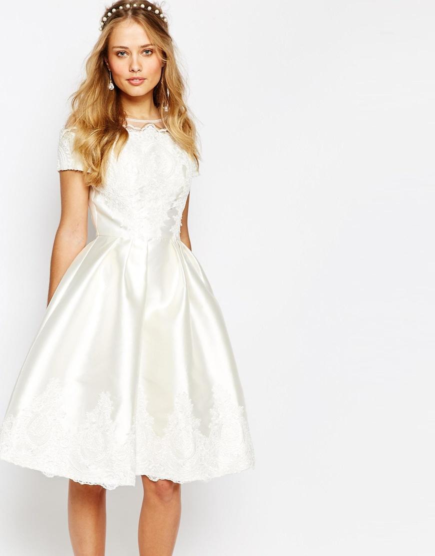 Vestidos de novia para bodas sencillas y bonitas - muymolon